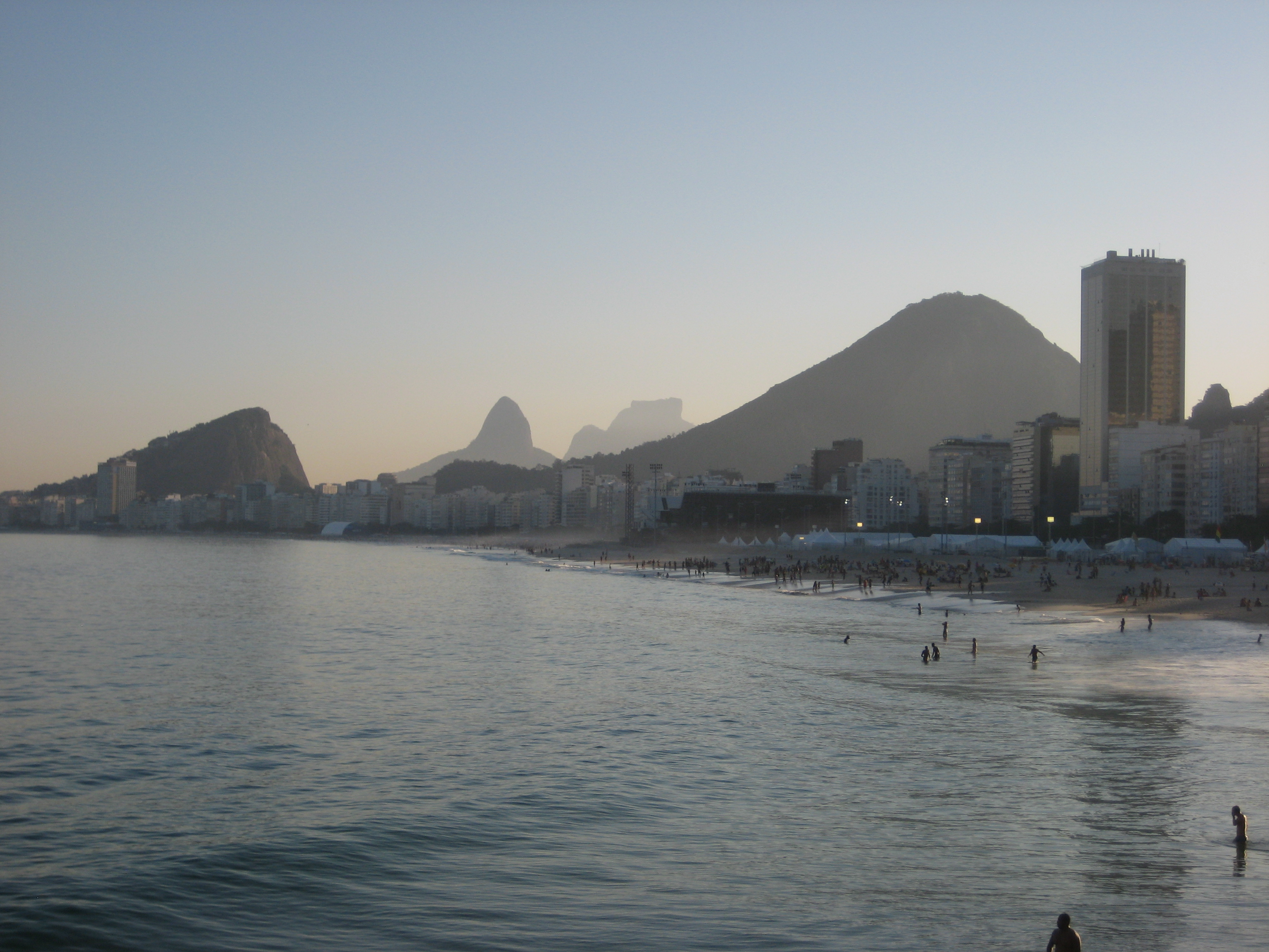 Copacabana beach view