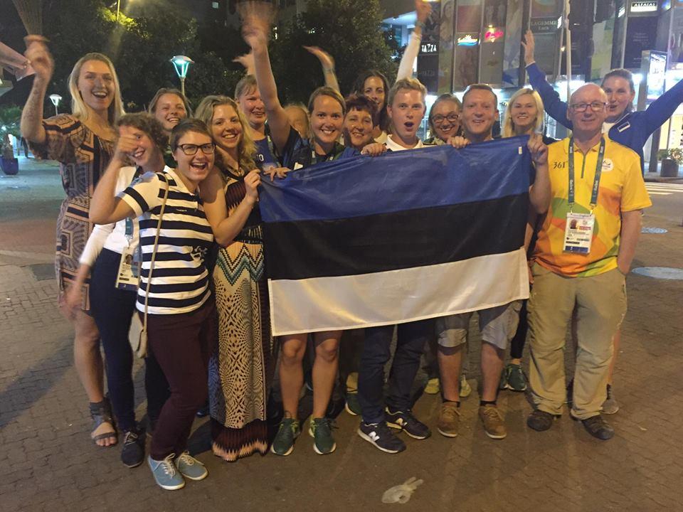 Estonian volunteers