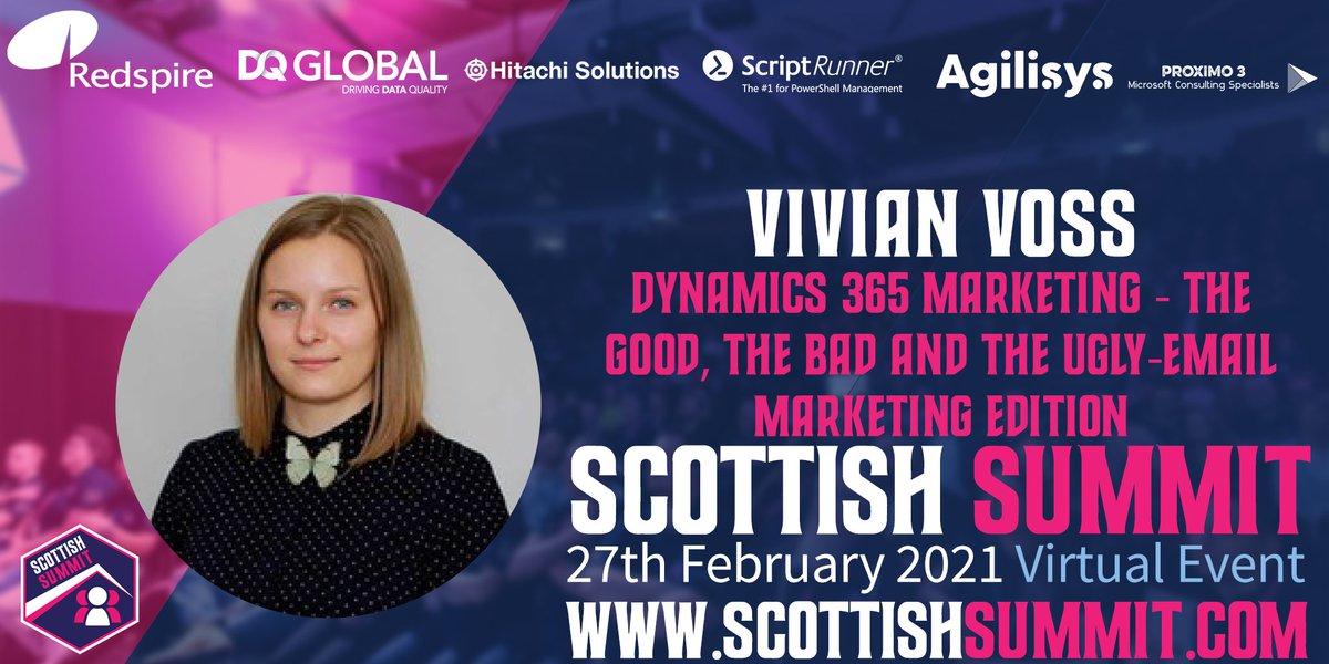 Vivian Voss Scottish Summit banner
